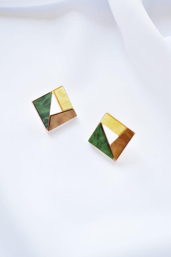 Geometrické náušnice Twiggy